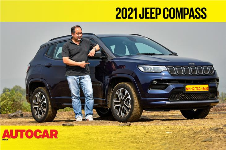 2021 Jeep Compass facelift video review