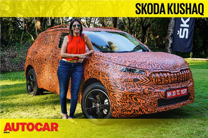 Skoda Kushaq prototype video review