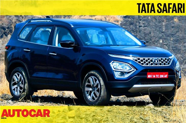 2021 Tata Safari video review