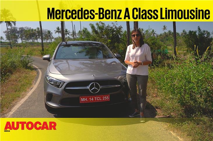 Mercedes-Benz A-class Limousine video review