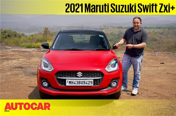 2021 Maruti Suzuki Swift facelift video review