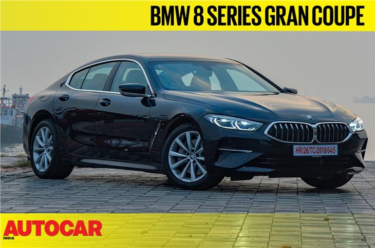 BMW 840i Gran Coupe video review