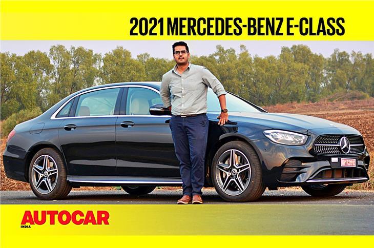 2021 Mercedes-Benz E Class facelift video review