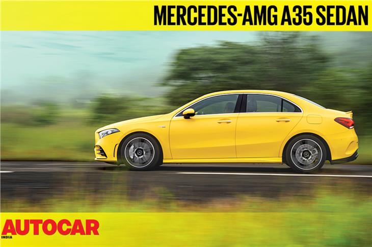 Mercedes-AMG A35 sedan video review
