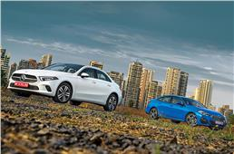 Mercedes-Benz A-class sedan vs BMW 2 Series Gran Coupe co...