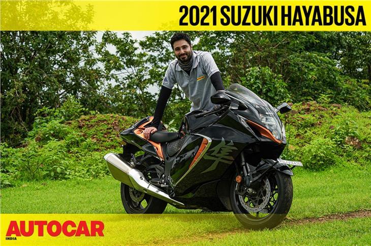 2021 Suzuki Hayabusa video review