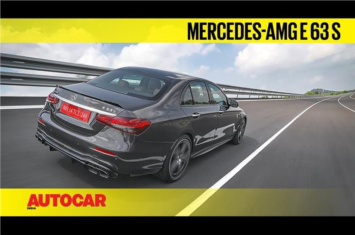 Mercedes-AMG E 63 S video review