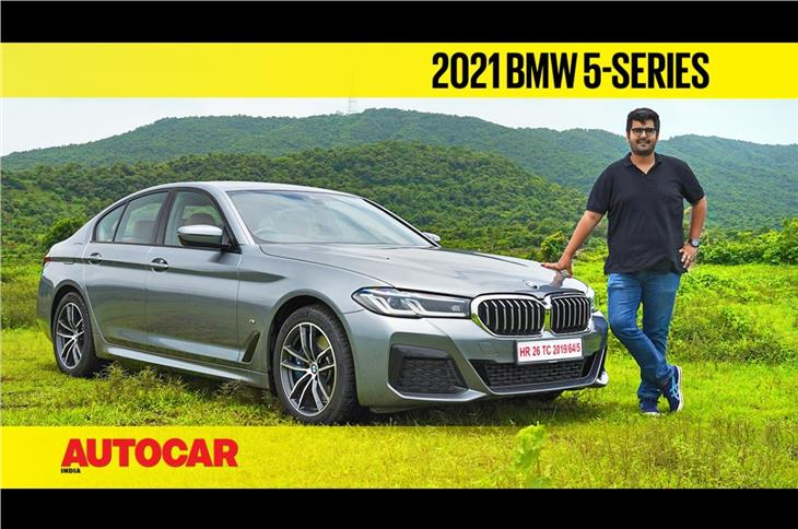 2021 BMW 5-series facelift video review