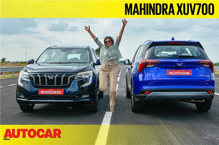 2021 Mahindra XUV700 video review