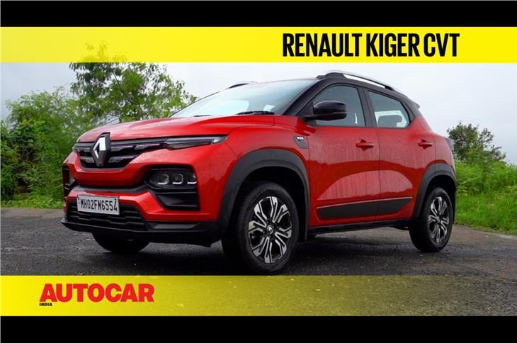 Renault Kiger CVT video review