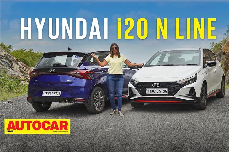 2021 Hyundai i20 N Line video review