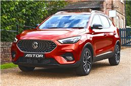 MG Astor mid-size SUV revealed