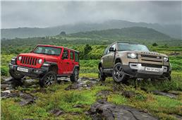 Jeep Wrangler vs Land Rover Defender comparison