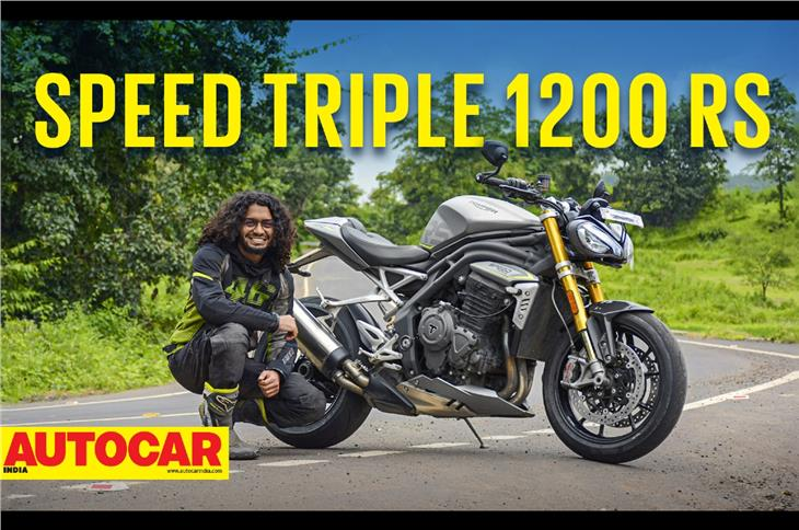 Triumph Speed Triple 1200 RS video review