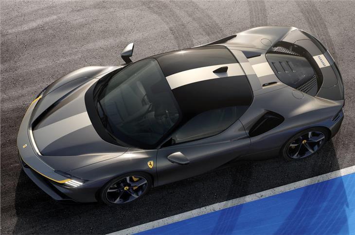 2020 Ferrari SF90 Stradale hybrid image gallery