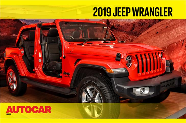 2019 Jeep Wrangler first look video
