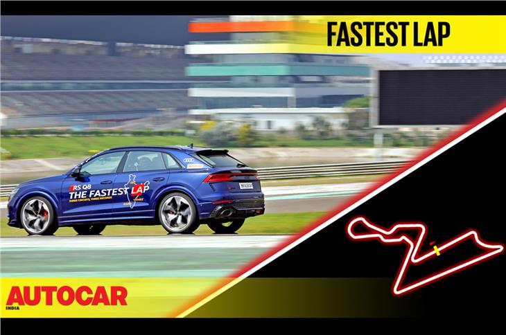 Audi RS Q8 vs Buddh International Circuit: The fastest lap video