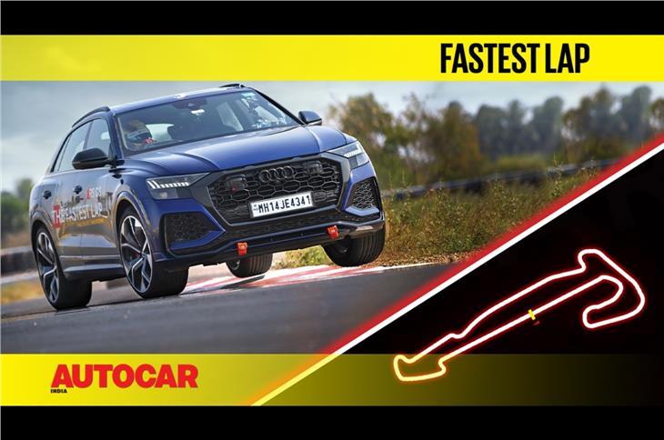 Audi RS Q8 vs Kari Motor Speedway: The fastest lap video