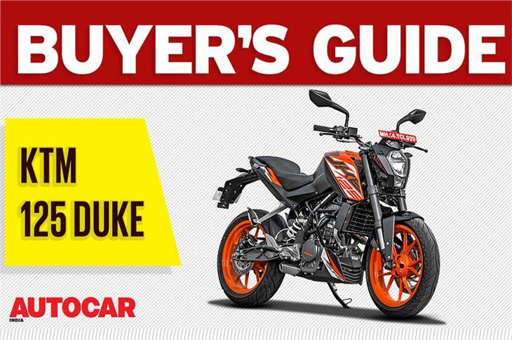 KTM 125 Duke buyer's guide video