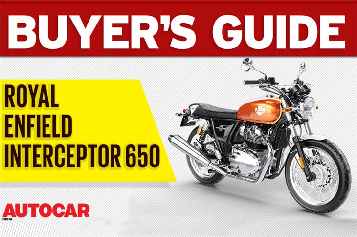 Royal Enfield Interceptor 650 buyer's guide video