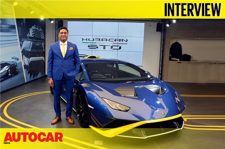 Sharad Agarwal on the Lamborghini Huracan STO, track events, electrified Lambos and more