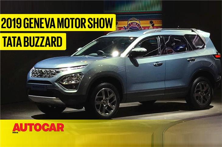 Tata Buzzard first look video