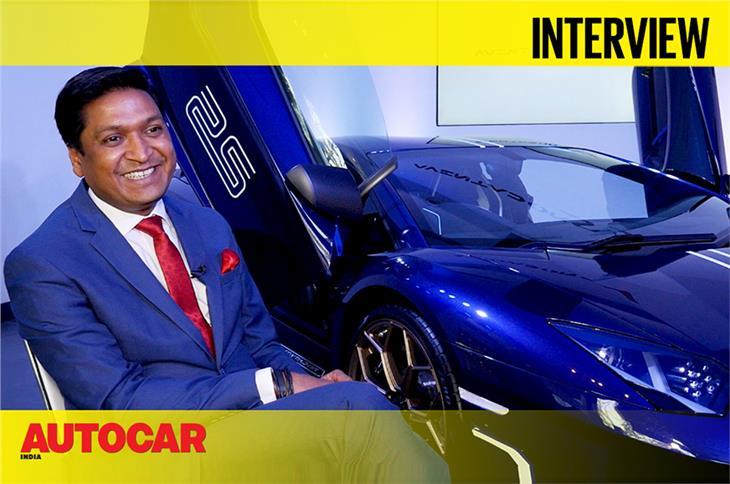 Sharad Agarwal talks about the Aventador SVJ