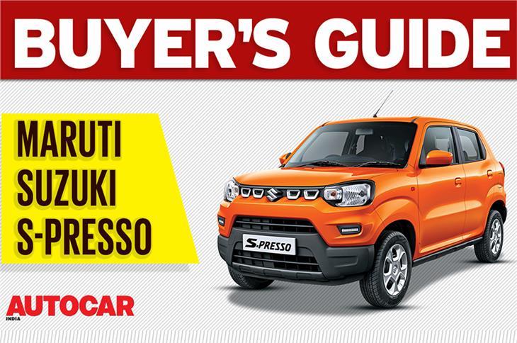 Maruti Suzuki S-presso buyer's guide video