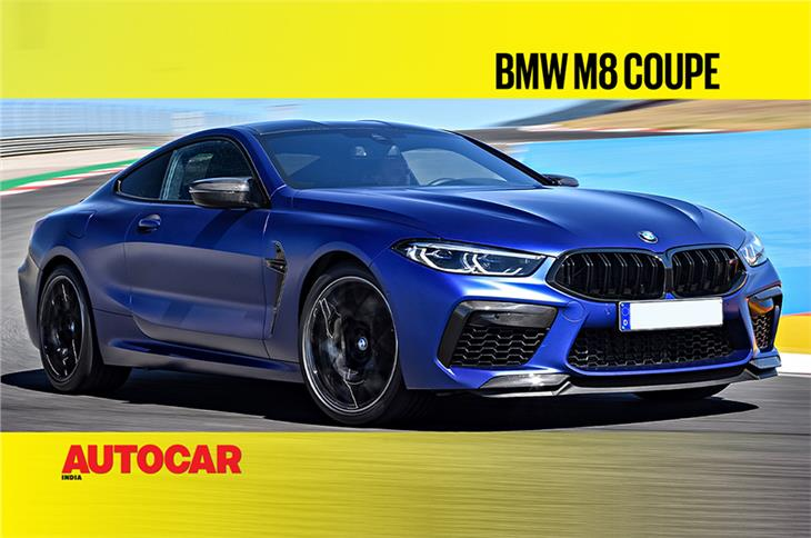 BMW M8 Coupe first look video