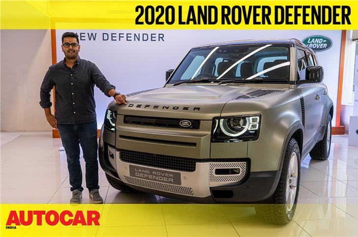 2020 Defender India walkaround video