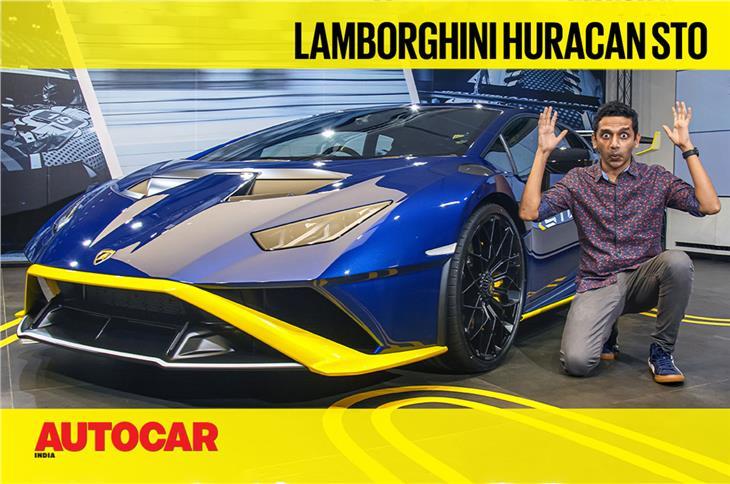 Lamborghini Huracan STO first look video