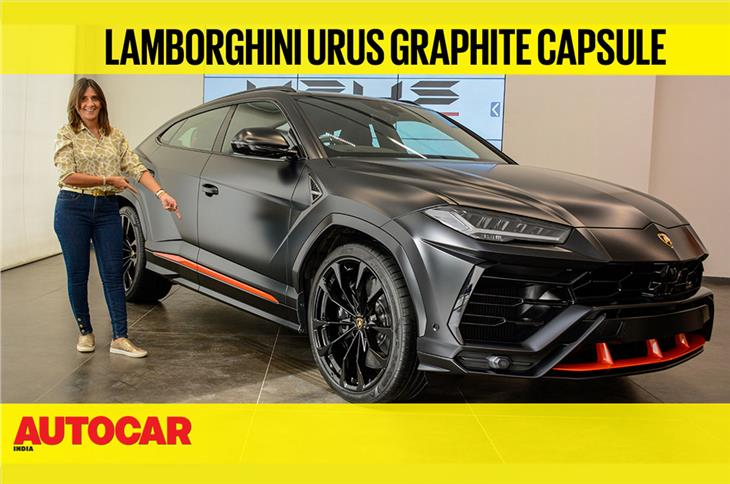 Lamborghini Urus Graphite Capsule first look video
