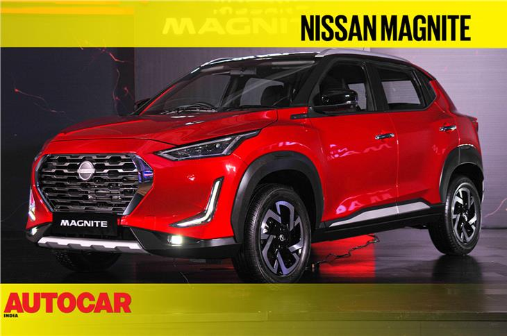 Nissan Magnite first look video