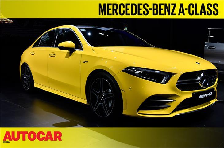 Mercedes-Benz A-class sedan first look video