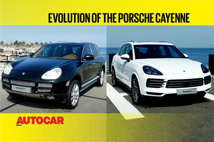Evolution of the Porsche Cayenne video