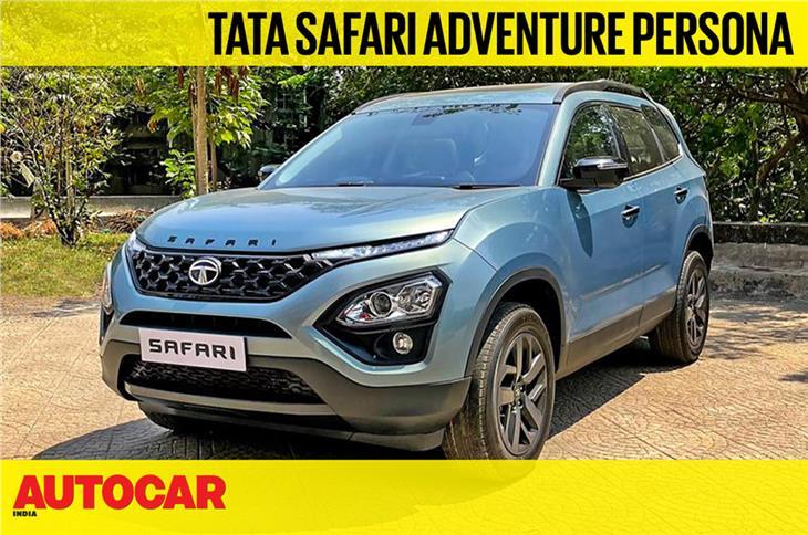 2021 Tata Safari Adventure Persona first look video