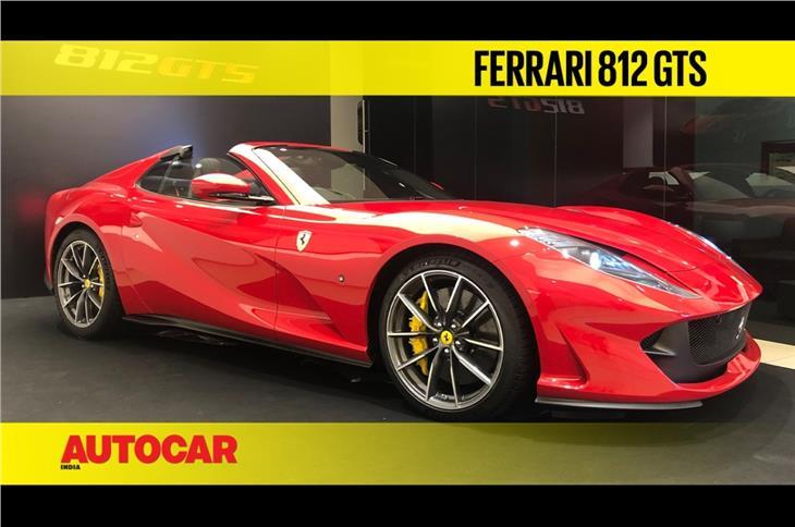 Ferrari 812 GTS first look video