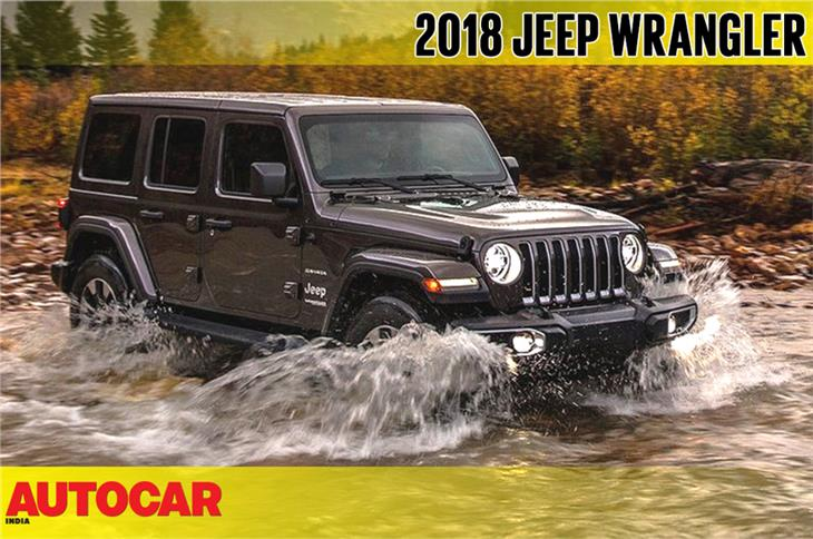 2018 Jeep Wrangler first look video