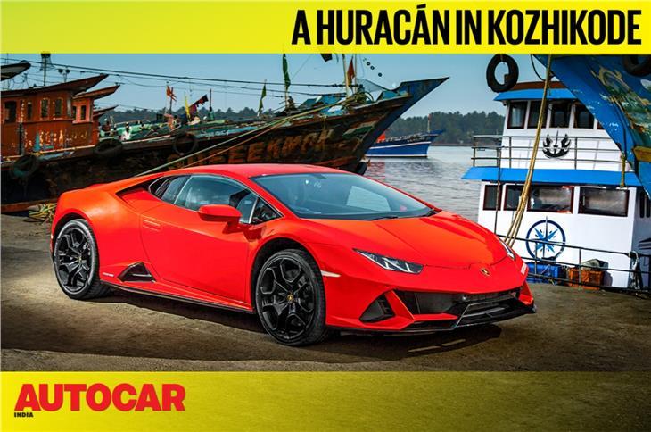 Exploring Kozhikode in a Lamborghini Huracan video