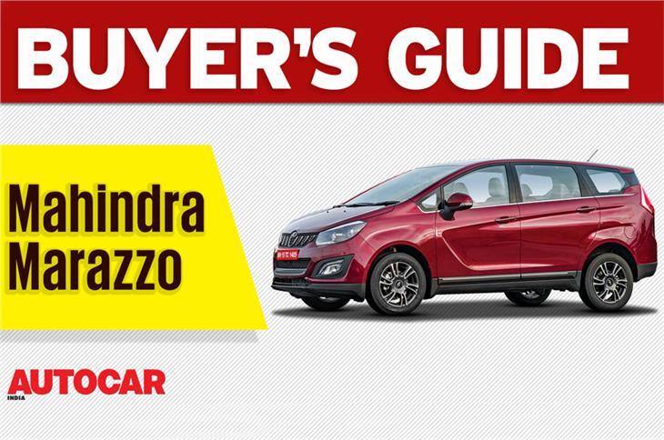 2018 Mahindra Marazzo buyer's guide video