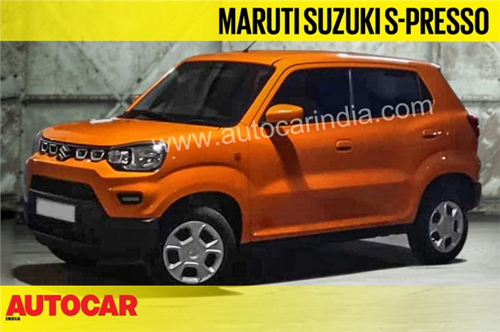 Maruti Suzuki S-Presso first image and new details video
