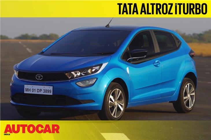 2021 Tata Altroz iTurbo first look video