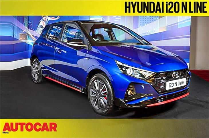 Hyundai i20 N Line first look video