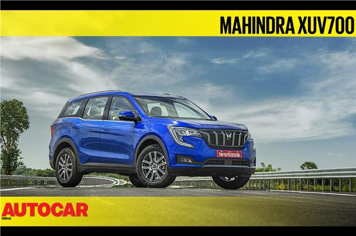 Mahindra XUV700 first look video