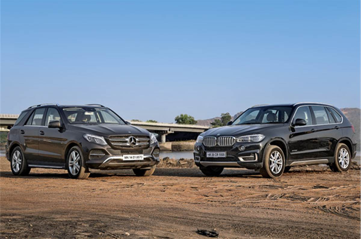 Mercedes Gle 350d Vs Bmw X5 30d Comparison Autocar India
