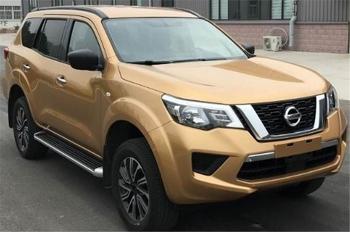 New Fortuner Rivalling Nissan Terra Spied Undisguised Autocar India