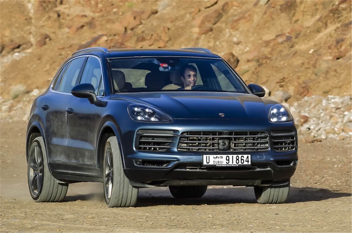 2018 Porsche Cayenne Review Expected Price India Launch And More Autocar India