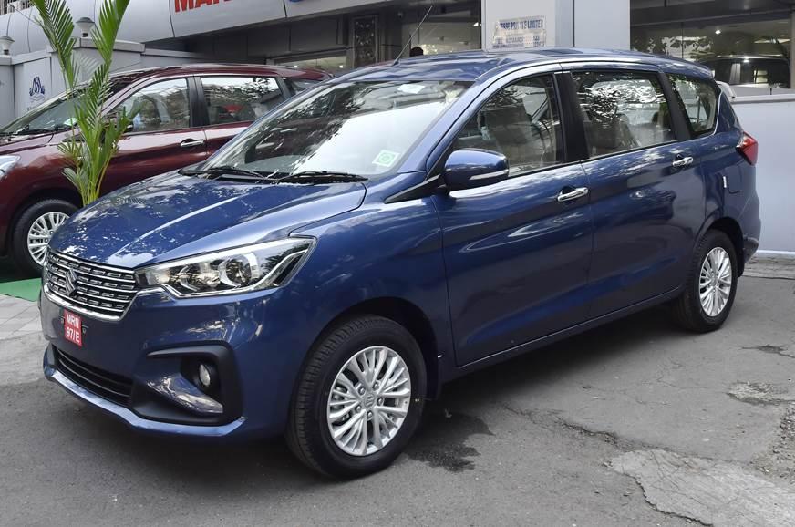 Suzuki Ertiga 7 chỗ có thích hợp để chạy xe Grap không? ImageResizer.ashx?n=https%3A%2F%2Fcdni.autocarindia.com%2FExtraImages%2F20181129122109_Maruti-Ertiga-showroom-blue