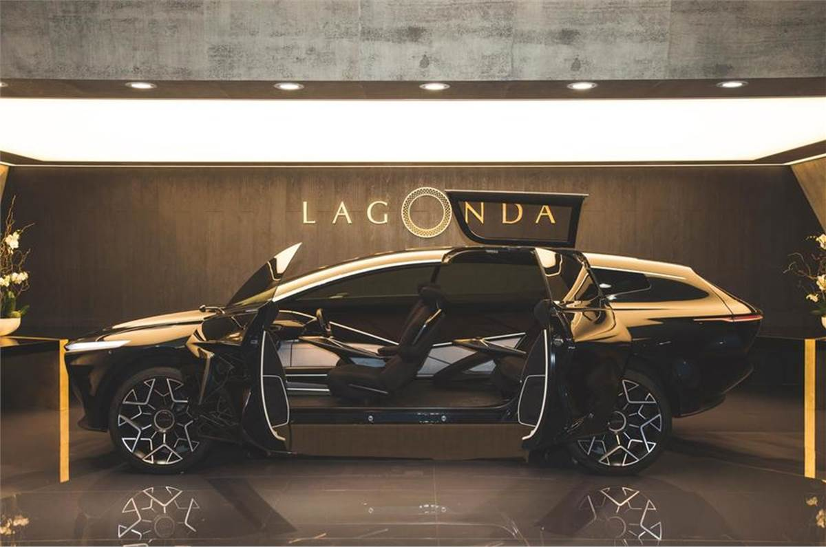 Aston Martin Lagonda All Terrain Concept Suv Revealed Autocar India