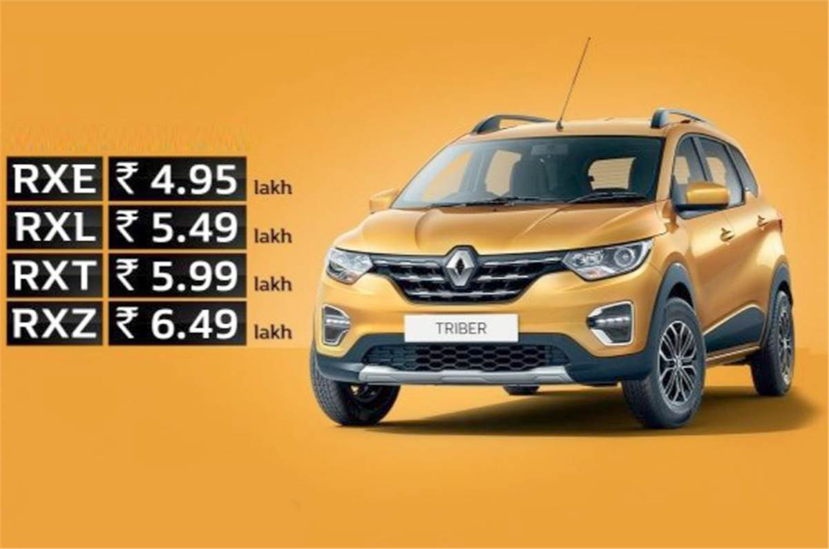 Renault Triber Which Variant Should You Buy Autocar India